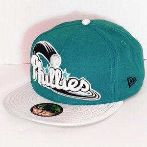 New Era Philadelphia Phillies Wordmark Fitted Hat